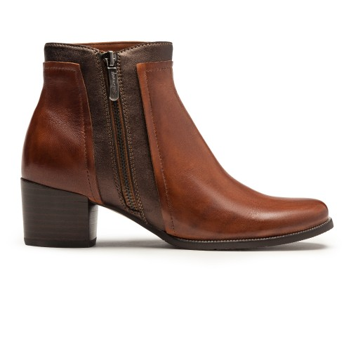 ISABEL-28 Cognac / Dark Brown