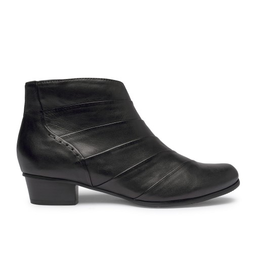 Stefany - 293 Black bootie